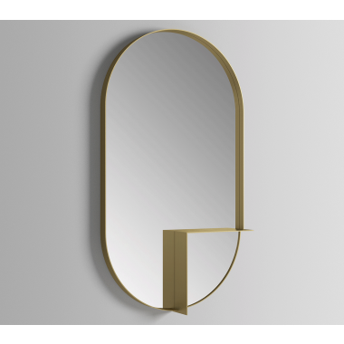 Nouveau Shelf Mirror